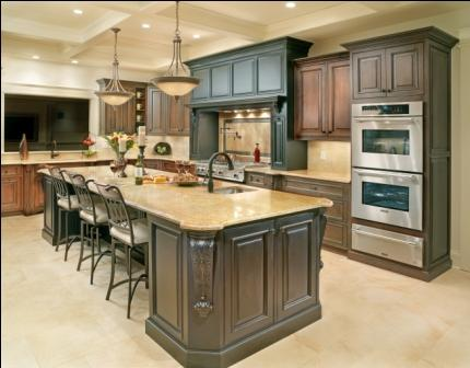 Luxury Kitchen Island
