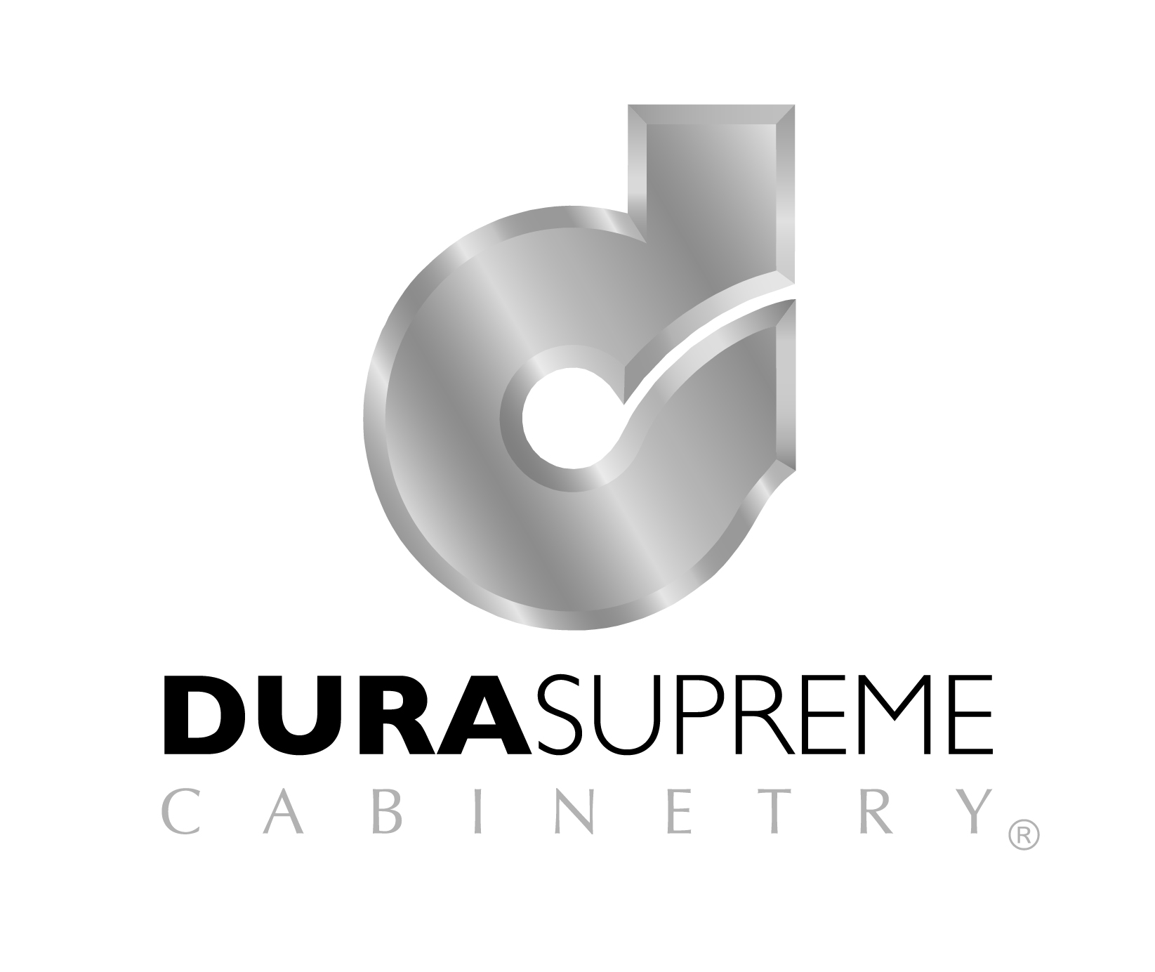 Dura Supreme Cabinetry logo white Columbus remodeling