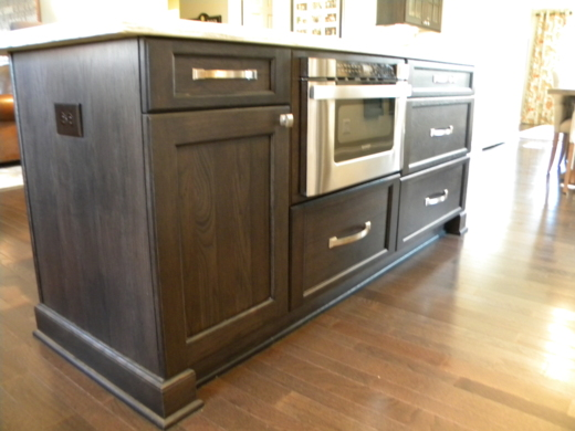 kitchen island built-in appliance
