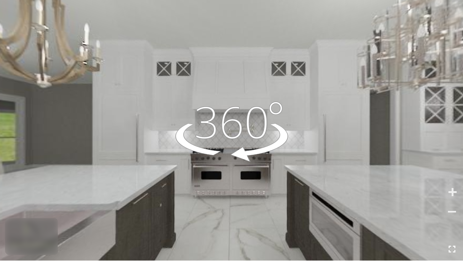360-Degree Virtual Kitchen Design